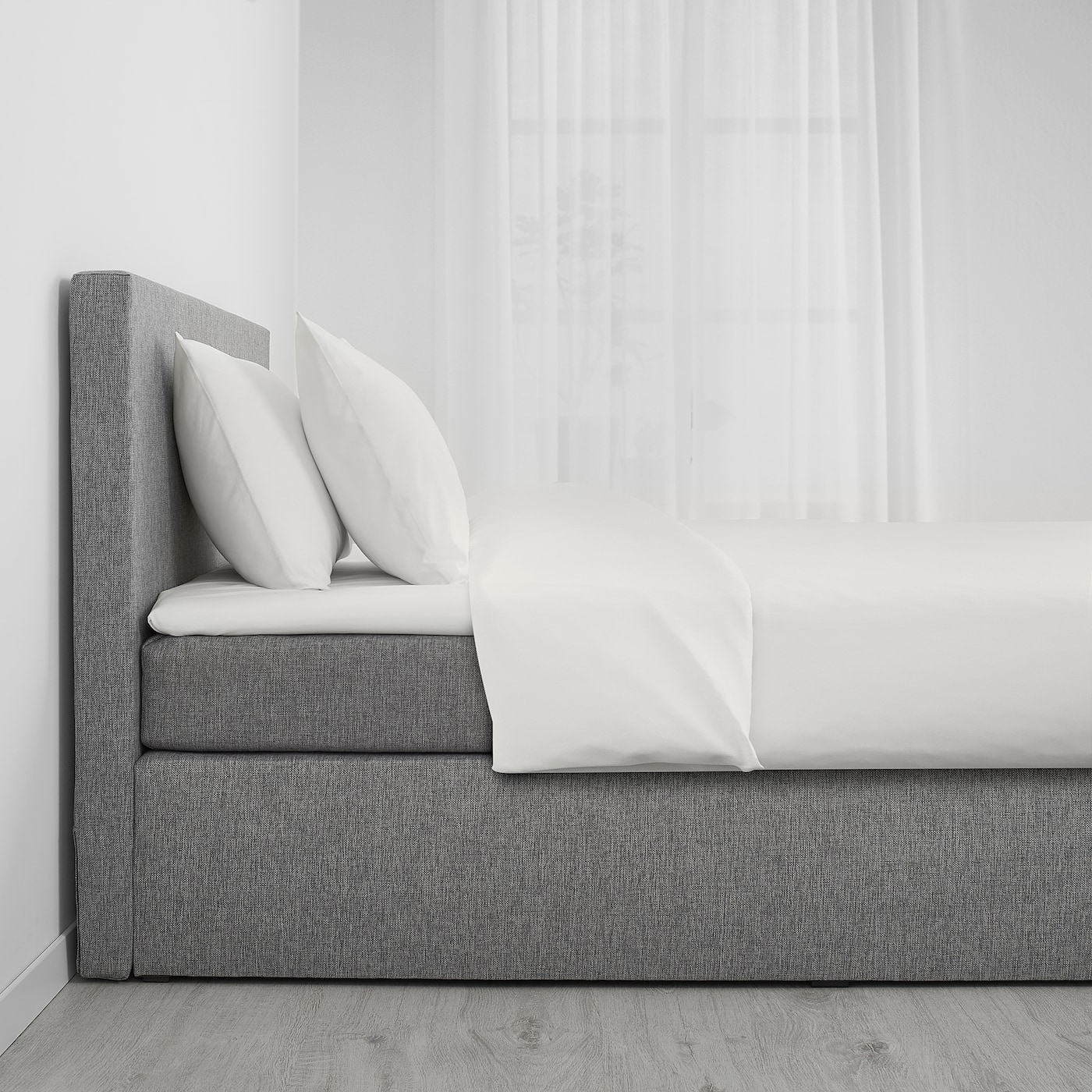 Svatsum Bed Frame With Bottom And Headboard 160x200 Cm